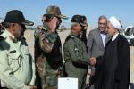 به منظور بازدید از مناطق سیل زده سیستان و بلوچستان؛ روحانی وارد چابهار شد
