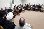 رهبر معظم انقلاب اسلامی در دیدار مسئولان حج: ایستادگی ملت ایران آمریکا را عصبانی کرده است