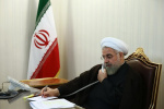 روحانی در گفت و گو با امیر قطر:نظامی گری درمنطقه نمی تواند مشکلات را حل کند