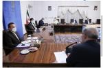 حضور رییس جمهور در جلسه روسای کمیته های تخصصی کرونا