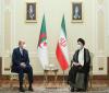 رئیسی در دیدار نخست وزیر الجزایر: اراده ایران بر گسترش روابط با الجزایر است