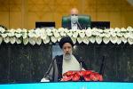 /تحلیف سیزدهم/ رئیسی: از هر طرح دیپلماتیک که باعث لغو تحریمها شود استقبال میکنم